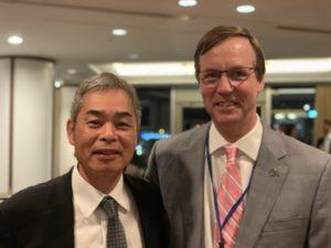 白石脊椎クリニック院長とJohn Heller教授